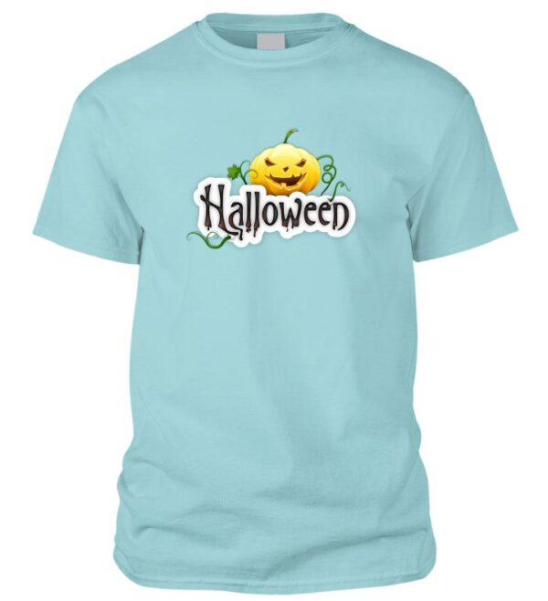 Halloweeni feliratos póló