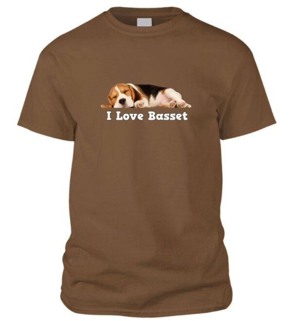 I love Basset póló