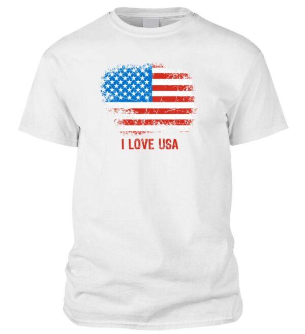 I love USA póló