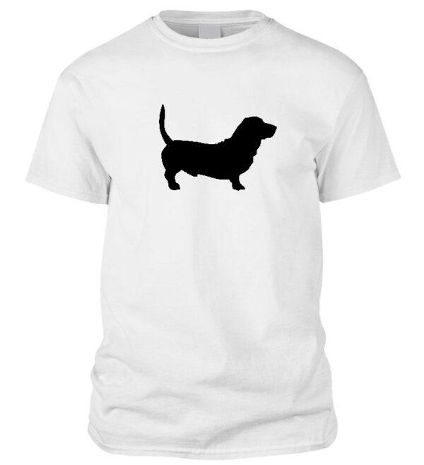 Basset hound kutyás póló