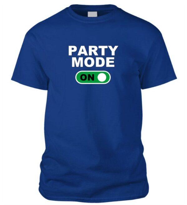 Party mode ON póló