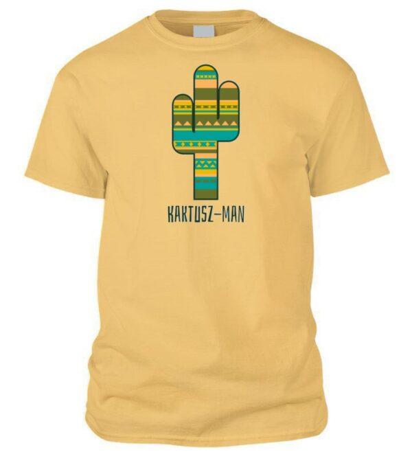 Kaktusz-man póló