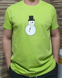 Elkészített és beküldött hóemberes póló - Waoo.hu