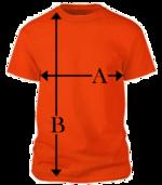 Férfi póló és uniszex póló mérettáblázat - Waoo.hu