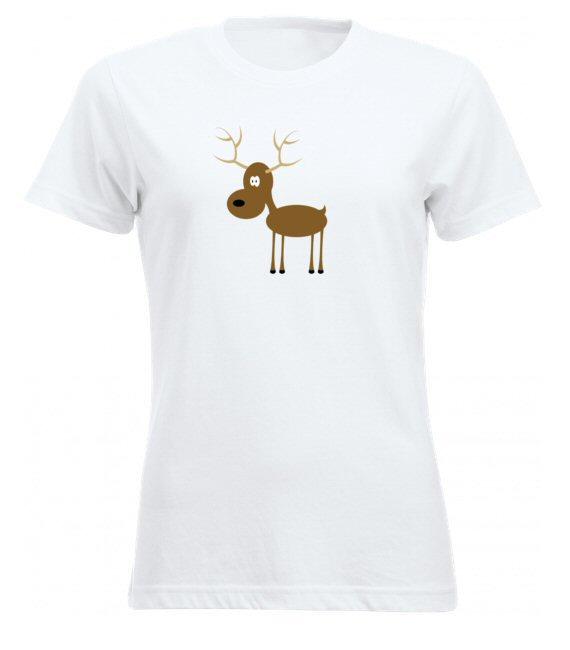 Rénszarvasos női póló