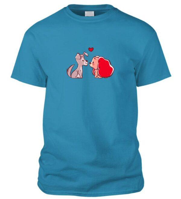 Kutyusos póló Valentin napra