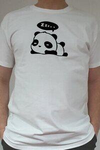 Elkészített és beküldött szundizós pandás póló - Waoo.hu