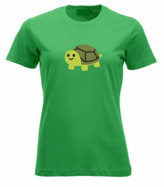Cuki teknősös női póló