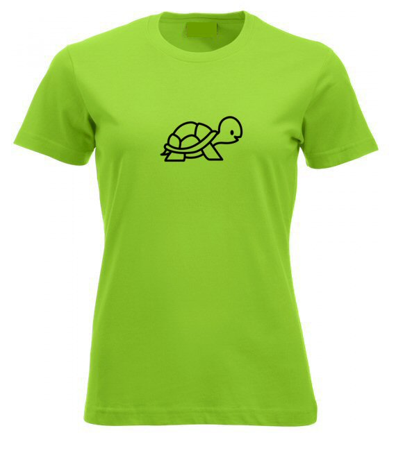 Teknősös női póló