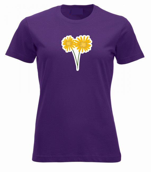 Tavaszi virágok női póló