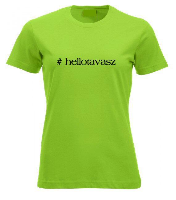Hellotavasz női póló