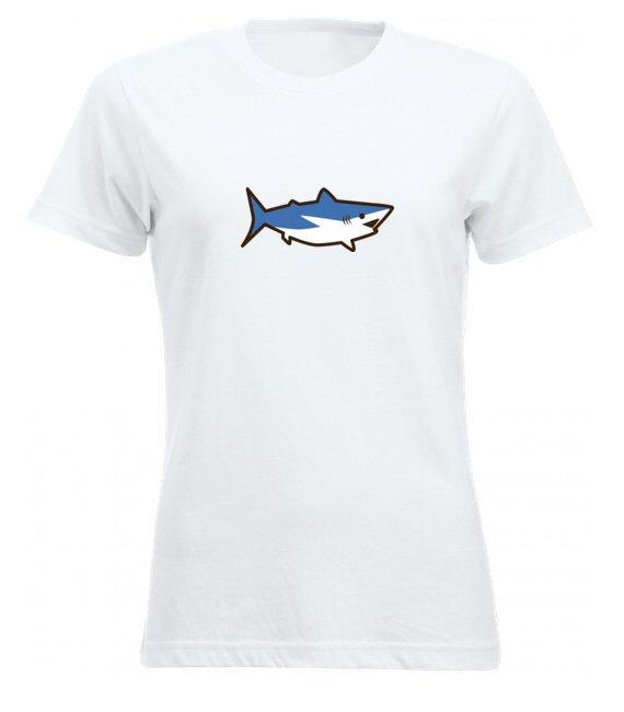 Cápás női póló