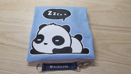 Elkészített és beküldött szundizós panda póló - Waoo.hu