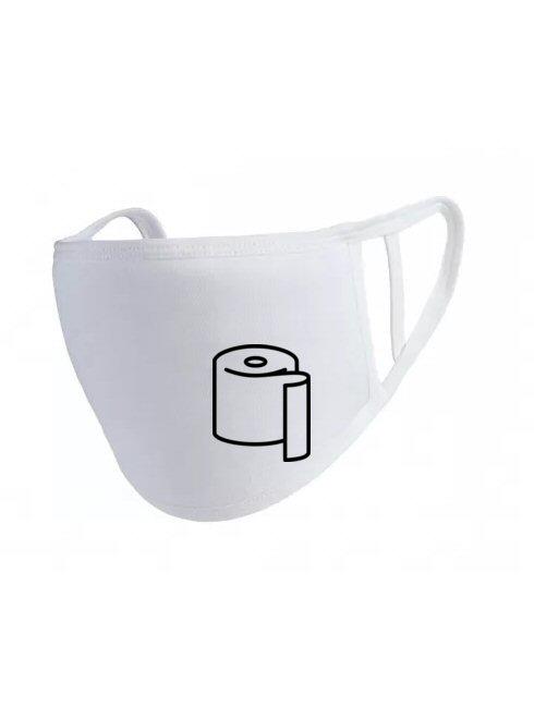Toalettpapír maszk