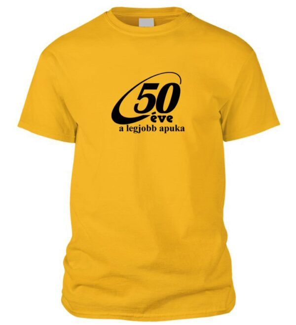 50 éve póló