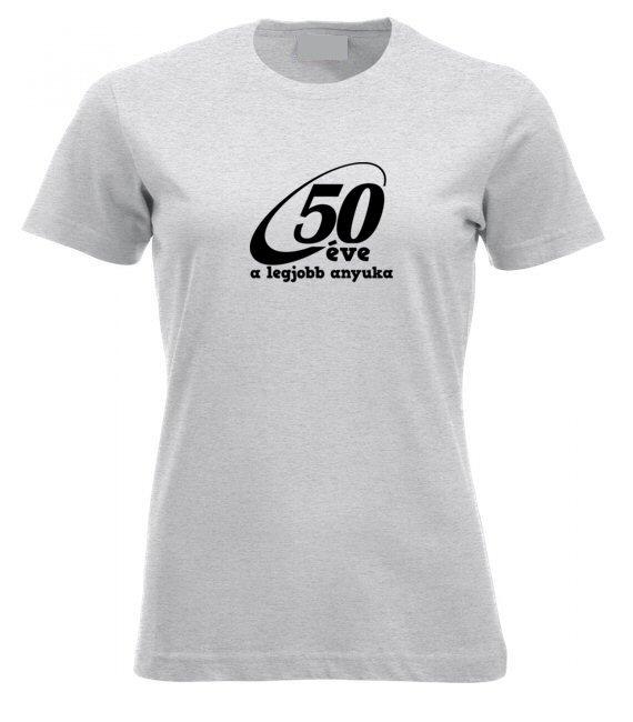 50 éve női póló